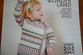 MILLAMIA WIONDERLAND MODERN BABY AND CHLDRENS KNITTING PATTERN BOOK